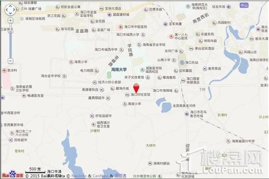 喜盈门(海口)建材家具生活广场交通图