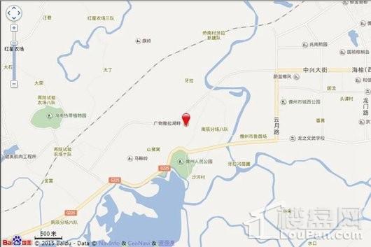 碧桂园·雅拉湖畔交通图