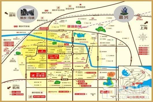 金泰·时尚广场交通图