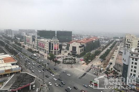 和平国际广场鸟瞰图