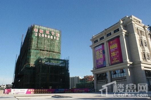 和平国际广场在建工程