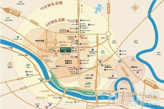 源昌中央公园交通图