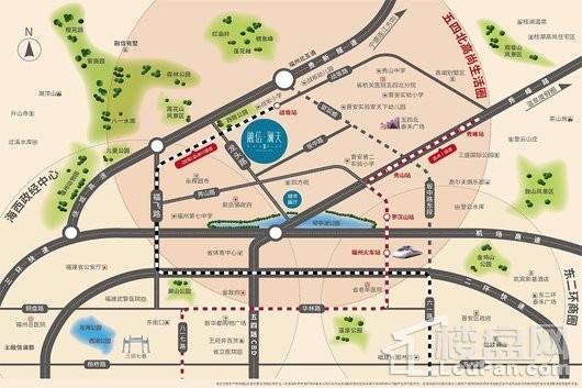 融信·澜天交通图