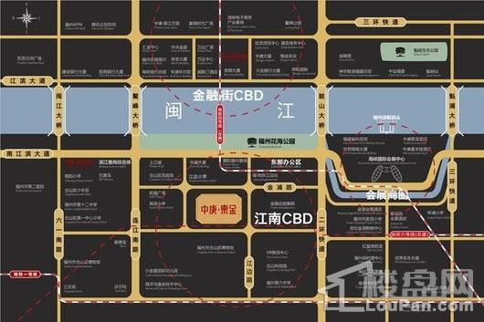 中庚·东金交通图