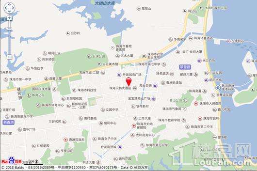 优特绿城·桂语香山交通图