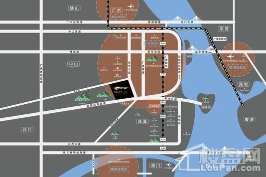 雪松君华·天汇交通图