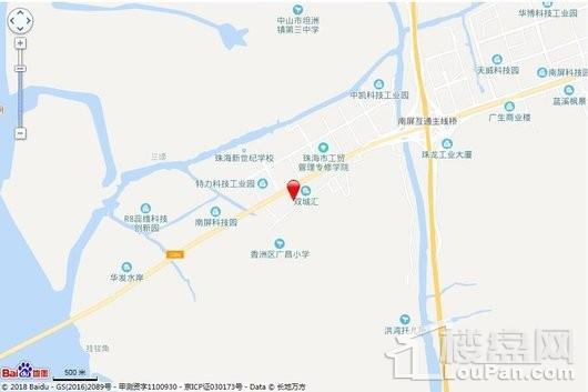 锦绣四季花园交通图