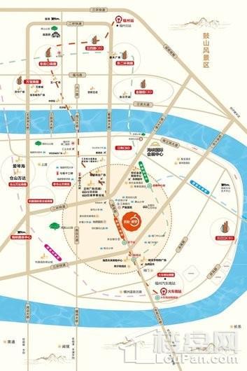 滨海·橙里交通图