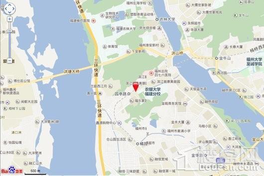 融侨·悦江南交通图