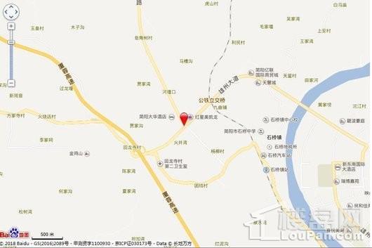 京汉新城悦隽风华交通图