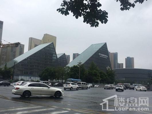 中国华商交子公馆配套图