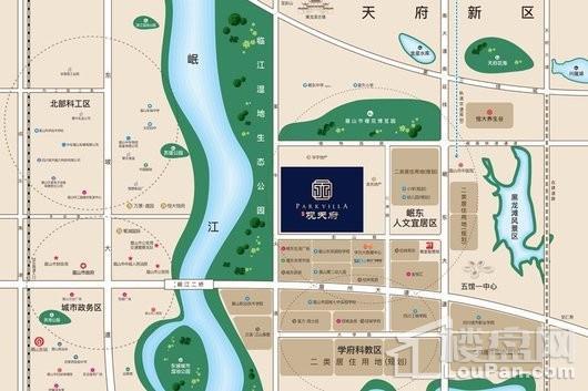 观池观天府交通图