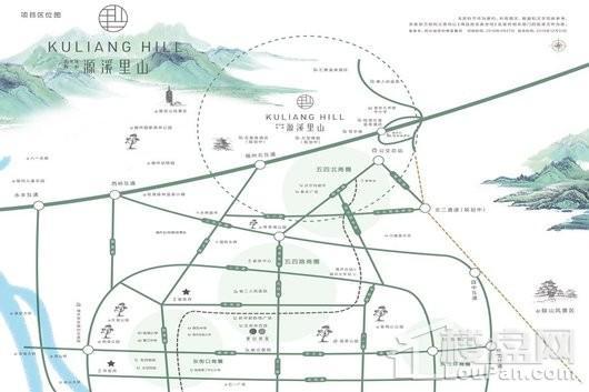 阳光城保利源溪里山交通图
