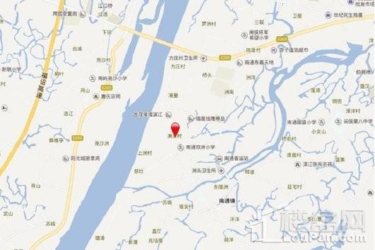 中铁城江督府交通图