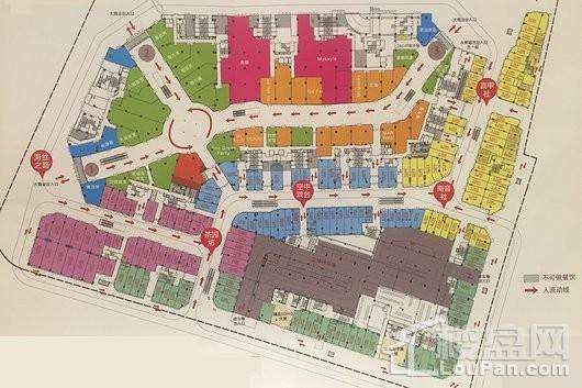 晋江紫峰里商铺平面图
