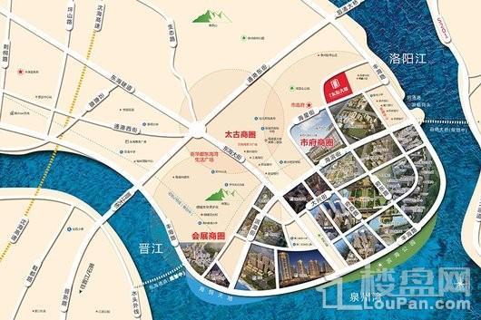 盛世东海大厦交通图