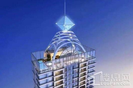 世界1號楼顶平台