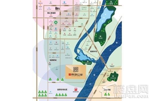 玫瑰园20期南湖世家交通图