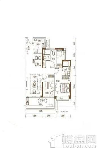 碧桂园·海上大都会海印 3室2厅2卫1厨