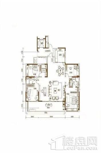 碧桂园·海上大都会海境 4室2厅3卫1厨