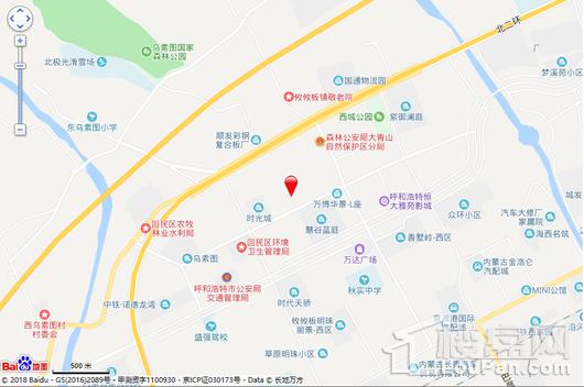 振华广场交通图