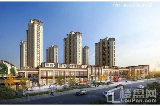 大唐丨阳光城翡丽公馆阳光北路透视图