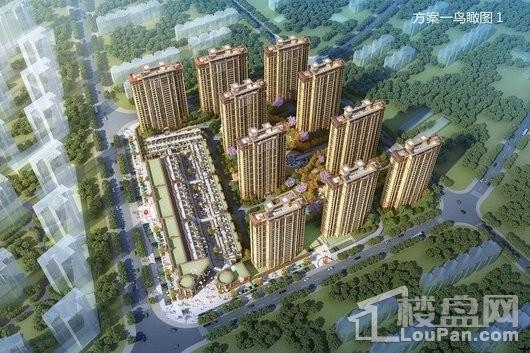 大唐丨阳光城翡丽公馆鸟瞰图