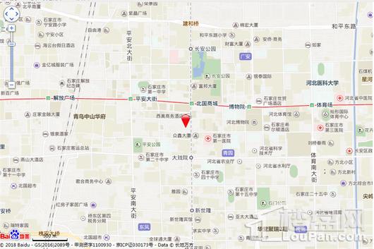 石家庄富力中心电子地图