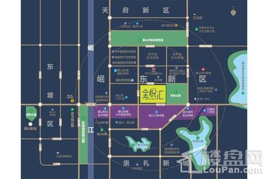 金悦汇交通图
