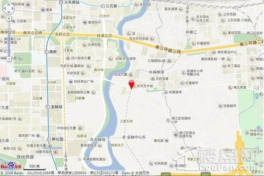 华润置地东原集团时光绘交通图