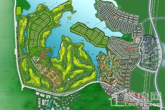 官塘学院小镇平面规划图