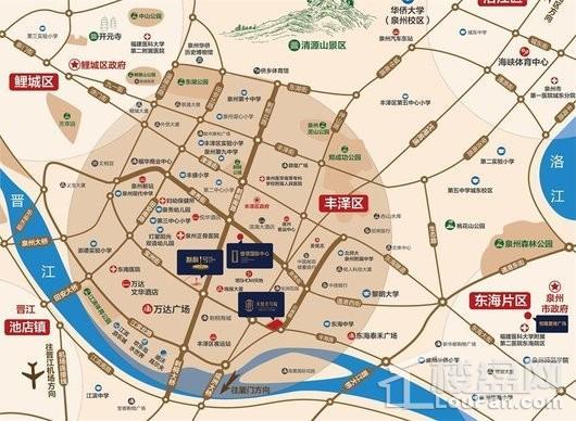 银领国际中心交通图