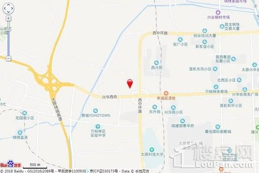 中国铁建·西府国际交通图