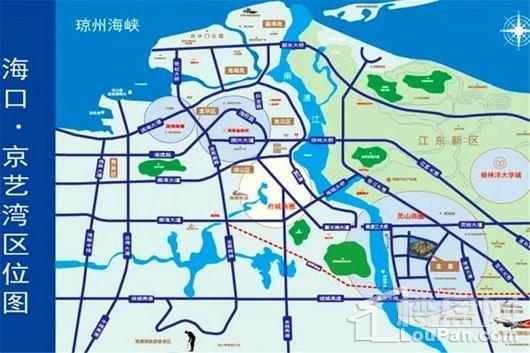 京艺湾交通图
