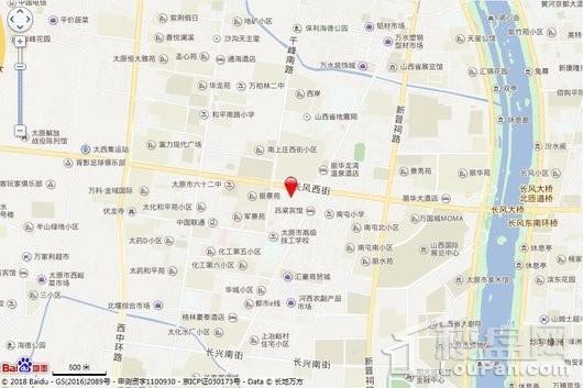 凤玺湾·金街交通图