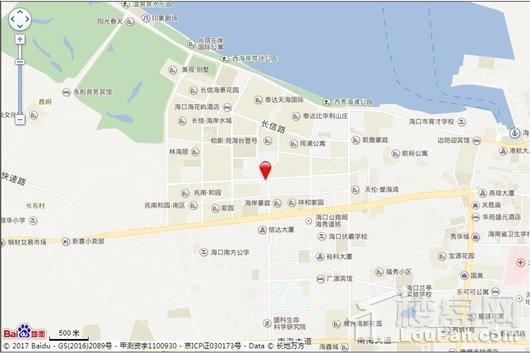 城投长信·上东城交通图