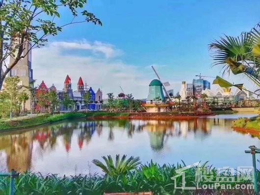 环球100宝龙城园区景观