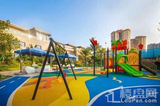 碧桂园十里繁花儿童游乐场地