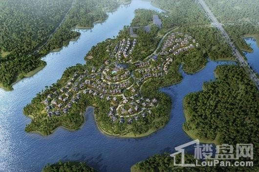 中国城投·颐康山水效果图
