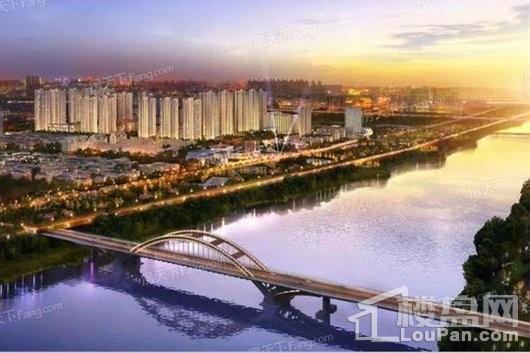 中铁城温江阅湖和庭效果图
