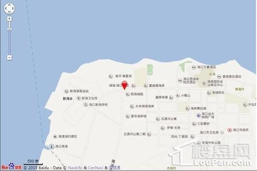 凤凰悦海电子地图