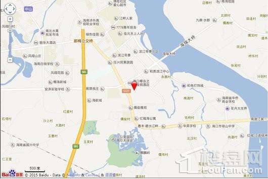 庆豪·万景峯交通图
