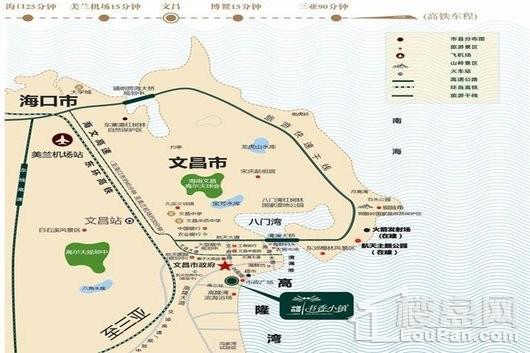 书香小镇交通图