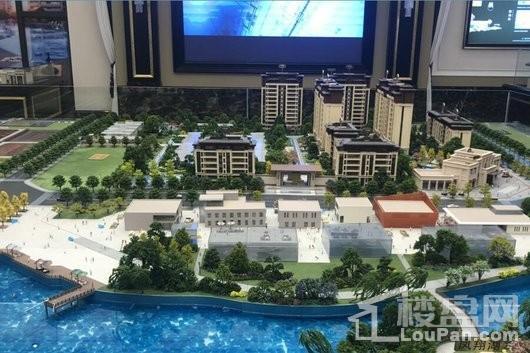 金科领地博翠粼湖实景图