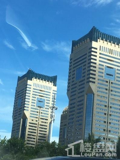 互联网金融大厦楼栋外立面