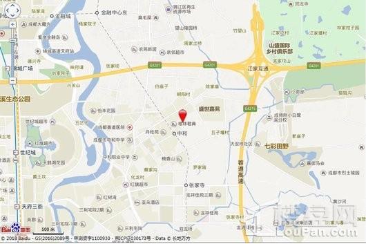 锦城悦庭交通图