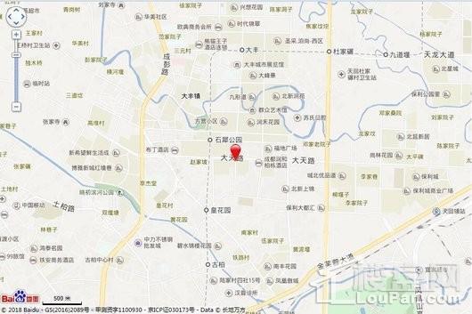 朗基香樾府交通图