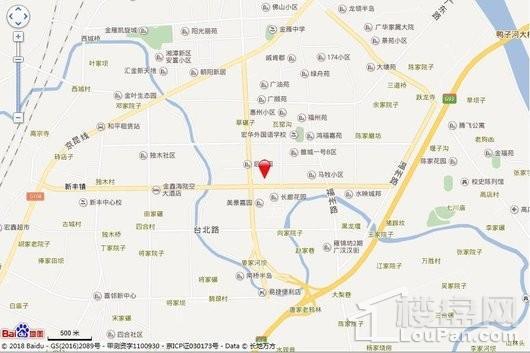 保利广悦府交通图