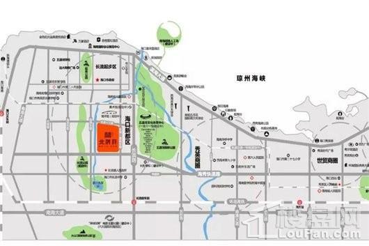 北辰府交通图