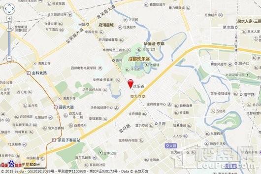华侨城云岸交通图